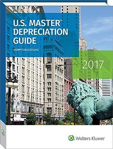 amazon com u s master depreciation guide 2017 u s master rh amazon com master depreciation guide 2016 Pathfinder Master Guide Uniform