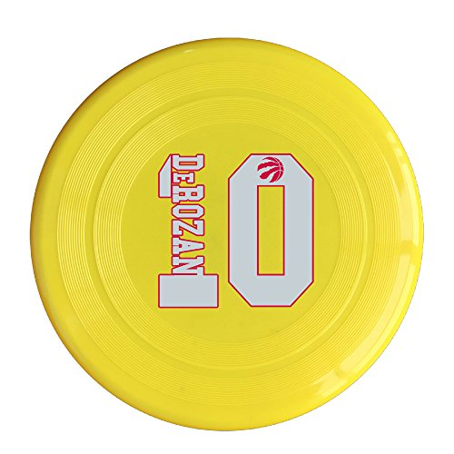 AOLM Toronto Sport No.10 Outdoor Game Frisbee Flyer Frisbee Yellow (Canada Air 2 Ipad)