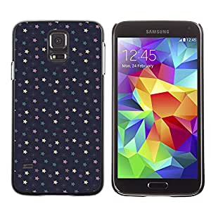 Wonderbook Wall (No Para S5Mini) pintado Multicolor de funda rígida Case Cover Carcasa Funda Samsung Galaxy S5SM-G900–Pequeño estrella