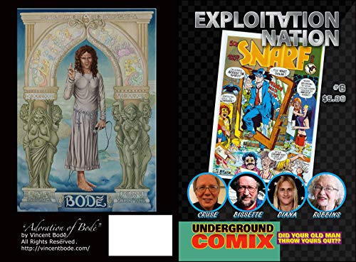 Pdf Graphic Novels Exploitation Nation #6: UNDERGROUND COMIX: Cover B