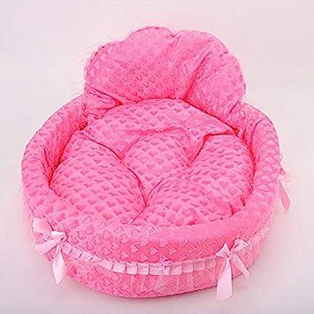 AbuChan Pet Nest Lovely Bow - Corbata para Mascotas, Cama de Princesa, Cama de