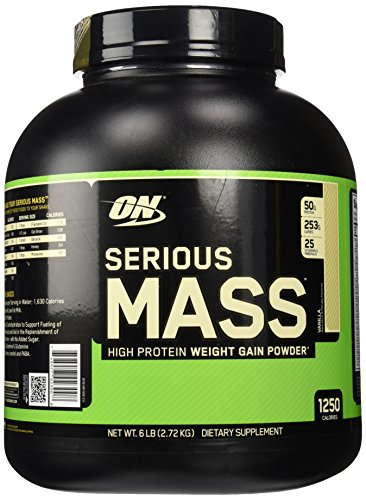 Optimum Nutrition vanille masse grave 6 lbs (2727 g)
