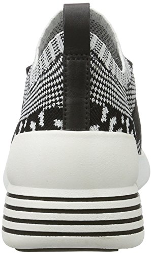 para Kkbrandy and Black White Negro Black Mujer Knit Blmfb Kendall Kylie Zapatillas qw6IFI