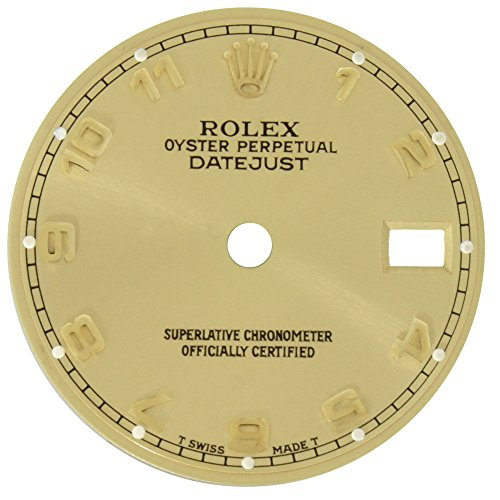 Rolex Datejust 20 mm Gold Arabic Dial for 179173 26mm Case Ladies Watch Models