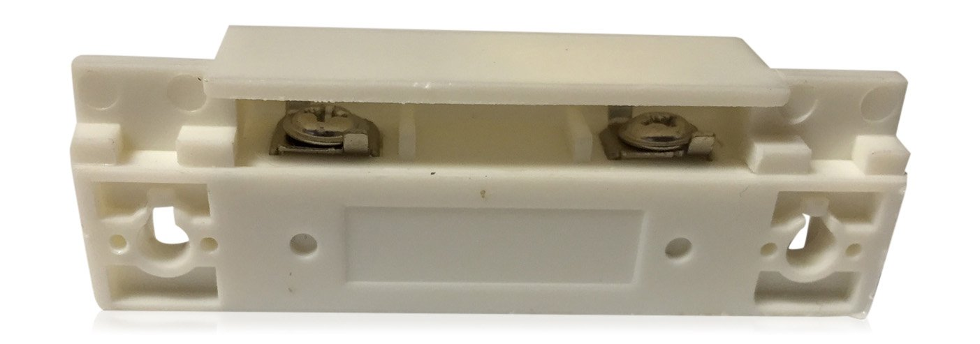 """5 pcs White Door Contacts Surface Mount NC Security Alarm Door Window Sensors.These ¾"""" Door Contact Position switches (DCS) Work with All Access Control and Burglar Alarm Systems by INTELLid (Image #2)"""