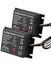 Gardigo 78405 - Repellente a ultrasuoni contro animali selvatici, per batteria di avviamento da 12 volt - Set di 2