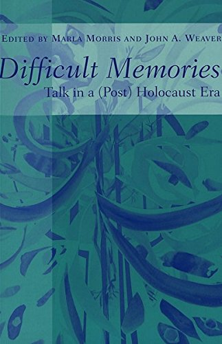 Difficult Memories: Talk in a (Post) Holocaust Era (Counterpoints)