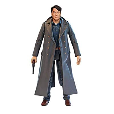 "Doctor Who Highly Detailed Captain Jack Harkness 5"" Action Figure: Toys & Games"