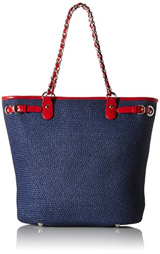 physician-endorsed-womens-harbor-isle-bag-with-matching-hat-navy-red-one-size