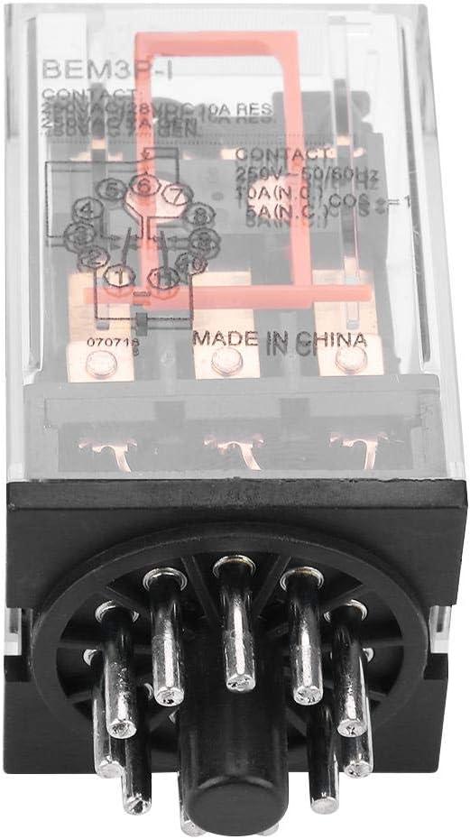 DEWIN MK3P-I AC 220V Elektromagnetisches Allzweckrelais 11 Stifte 10A 3Z