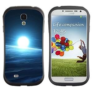 Pulsar iFace Series Tpu silicona Carcasa Funda Case para SAMSUNG Galaxy S4 IV / i9500 / i9515 / i9505G / SGH-i337 , Cold space Sun