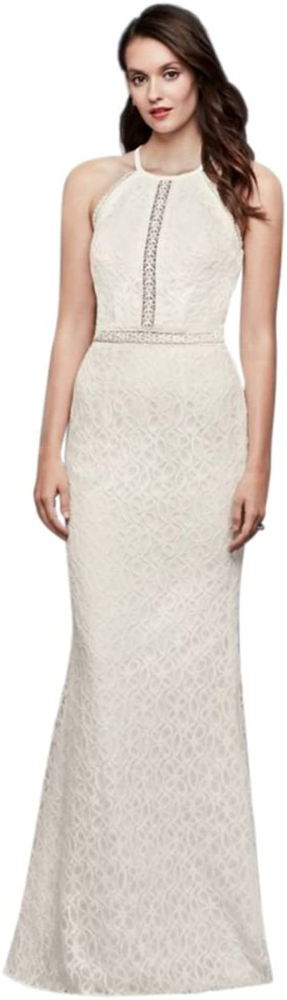 Floral Lace Racerback Sheath Wedding Dress Style Wg3888 Ivory 0 Amazon Ca Clothing Accessories,Best Spanx For Wedding Dress Plus Size
