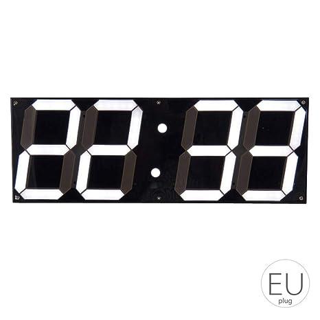 e22f7fe1b1b9 Gran Reloj de Pared Digital LED de Pantalla del Control Remoto cronómetro  Cuenta Regresiva el Despertador