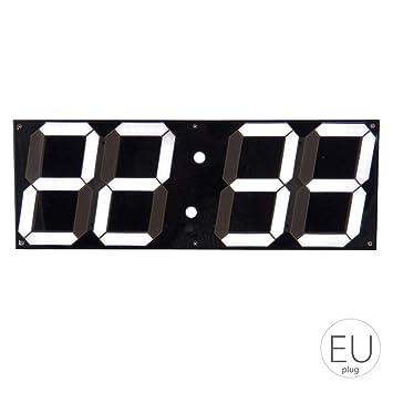 Bodbii Gran Reloj de Pared Digital LED de Pantalla del Control Remoto cronómetro Cuenta Regresiva el