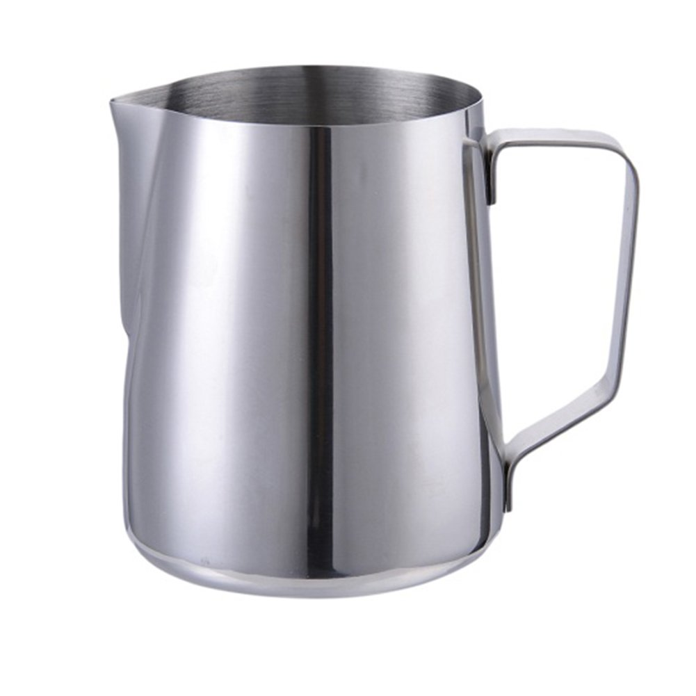 Professional 30 oz (900ML) Milk Frothing Pitcher Coffee Creamer Frothing Cup Jup for Espresso Machines Latte Art Baristas Stainless Steel by Fulstarshop