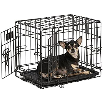 Exceptionnel Dog Crate | MidWest ICrate XXS Double Door Folding Metal Dog Crate W/Divider  Panel