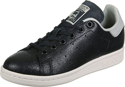 adidas Stan Smith Fashion J, Zapatillas de Deporte Unisex Niños Negro (Negbas / Negbas / Sesamo)