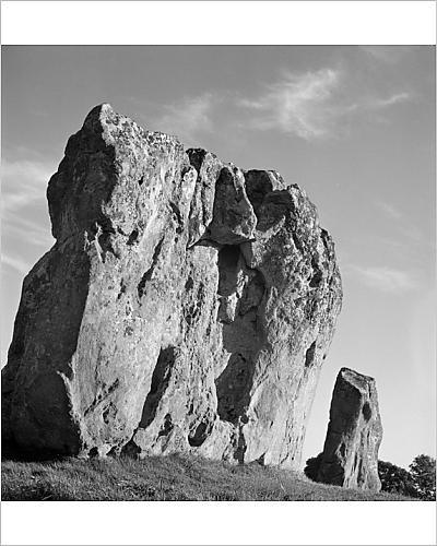 Photographic Print of Avebury Stone Circle AA083102 - Avebury Stone Circle