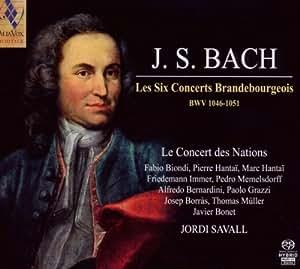Bach: Los Seis Conciertos De Brandenburgo ; Le Concert Des Nations - Savall