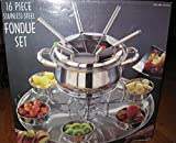 Fondue Set 16 Piece Stainless Steel New