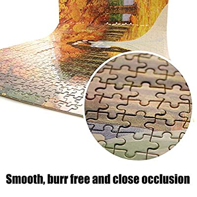 LIVEQL DIY Wooden 3D Jigsaw Puzzles Toy High Games Adults Crossword 1000 Piece Puzzle Books Girls Birthday Gift/Ring-Movie Character: Toys & Games