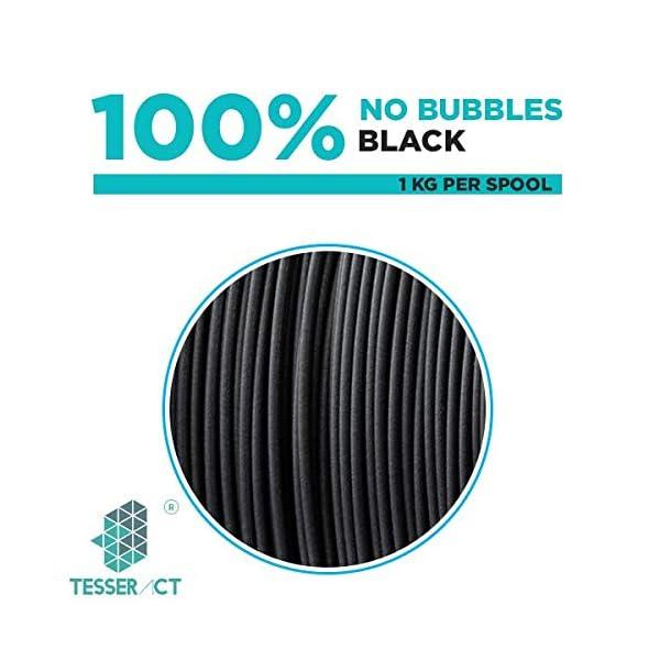 Tesseract 1.75mm ABS (1kg) (Black)