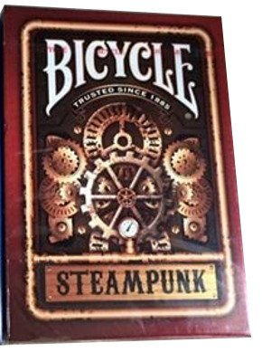 Bicycle Red Steampunk Playing Cards 3