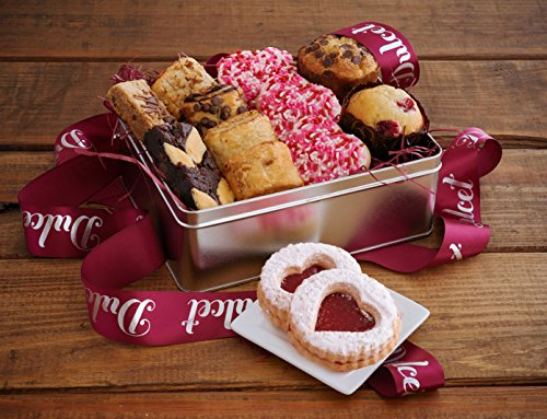 Valentines Day Deluxe Lovely Assortment,Gourmet Gift Basket Prime Package, Elegant Gift box (Gourmet Gifts Delivered)