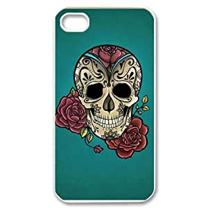 ANCASE Skull Art 5 Phone Case For Iphone 4/4s [Pattern-6]