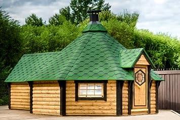 junit gkf16501es 16,5 M2 Barbacoa Kota con sauna Cultivo de para 16 personas