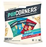 PopCorners Snacks Variety Pack | Gluten Free Chips Snack Packs | Kettle Corn, White Cheddar, Sea Salt | (18 Pack, 1 oz Snack Bags) Larger Image