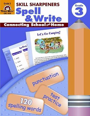 Skill Sharpeners Spell & Write, Grade 3 (Language Of Spells)