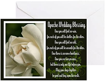 Cafepress Traditionnel Apache Mariage Benediction Carte