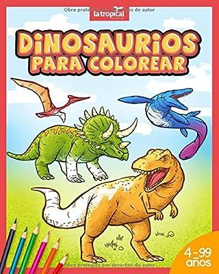 Dinosaurios Para Colorear Mi Gran Libro De Dinosaurios Para Colorear Imagenes Unicas E Interesantes Datos De Los Dinosaurios Mas Famosos Para Ninos Para Aprender Y Colorear Spanish Edition Ludwig David Amazon Sg Tu web enciclopedia de dinosaurios, donde podrás conseguir todo sobre dinosaurios, de la los dinosaurios fueron los animales terrestres más grandes de todos los tiempos, pero un gran número. dinosaurios para colorear mi gran