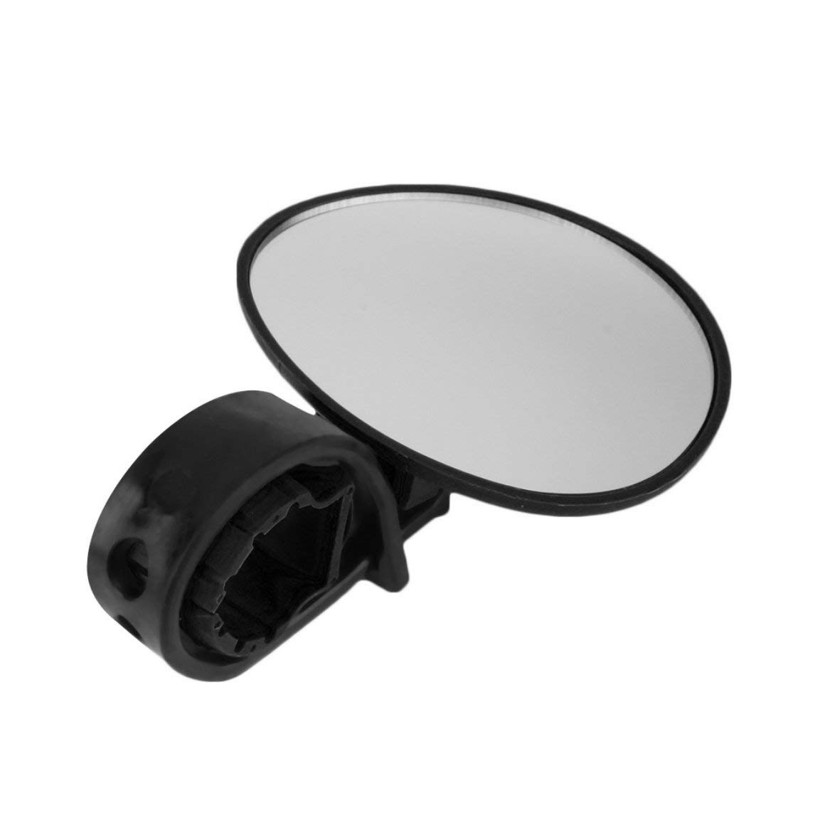 Funnyrunstore Bike V/élo Cyclisme Universel R/églable R/étroviseur Guidon Rearview Mirror Accessoires v/élo Flexible S/écurit/é Rearview Couleur: Noir