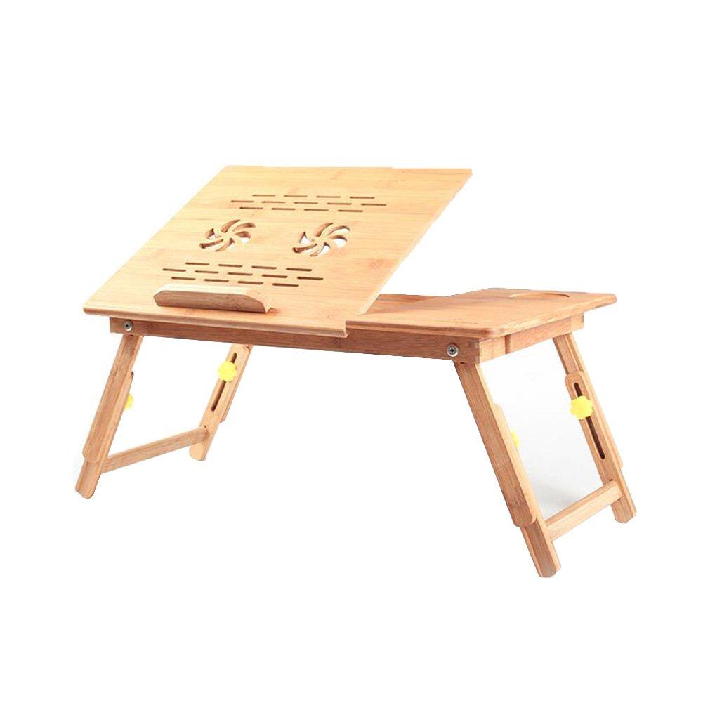 CJC テーブルチェアセット 机 表 トレイ 100% 竹 スタンド 折りたたみ可能 ベッド 花 スタイル 設計 遊びます ゲーム 表 サポート ラップトップ ノート (色 : T6) B07FX486BG T6 T6