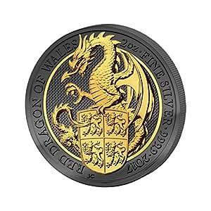 Bestias de la Reina – rojo dragón de Gales Golden Enigma £