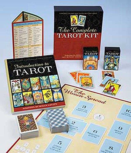 Party Games Accessories Halloween Séance Tarot Cards Complete Tarot Kit deck & book by Susan Levitt by AzureGreen