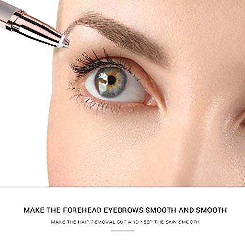 Electric Flawless Brows Eyebrow Hair Remover, Women's Painless Hair Remover for Nose, Eyebrow Hair, Face Lip, Flawlessly Brow Hair Remover Arishine(no battery) by Arishine (Image #2)