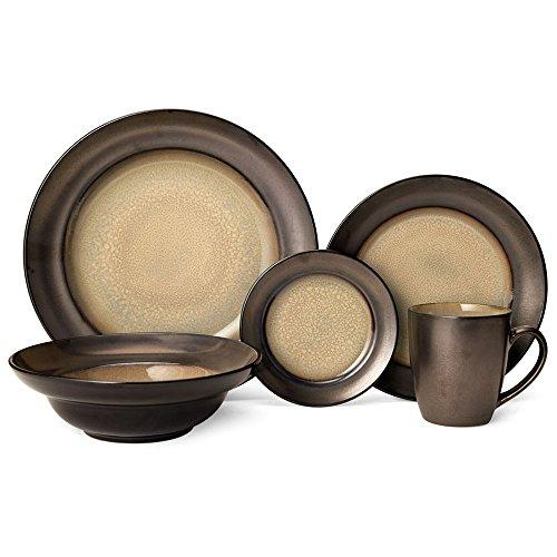 Gourmet Basics Sandstone Dinnerware Set (40 Piece)