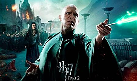 Harry Potter and the Deathly Hallows Part 2 (59x35 cm ...