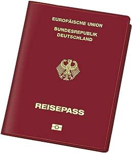 Veloflex 3259800 - Funda para pasaporte alemán (con plástico ...