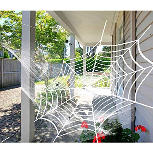 Dreampark Halloween Spider Web, Halloween Outdoor Decoration [9