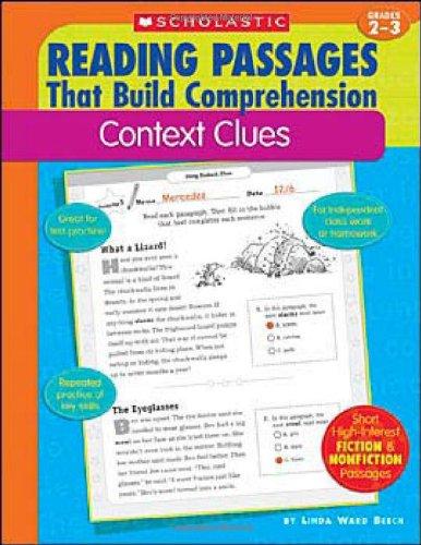 Amazon.com: Context Clues (Reading Passages That Build ...