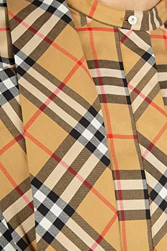 Vestito Cotone Marrone Donna Burberry 8004561 PwCqWSxR