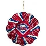 MLB Geo Spinner Ornament MLB Team: Philadelphia Phillies