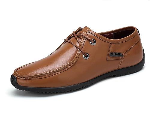 Camel - Mocasines para hombre, color amarillo, talla 41 EU M: Amazon.es: Zapatos y complementos