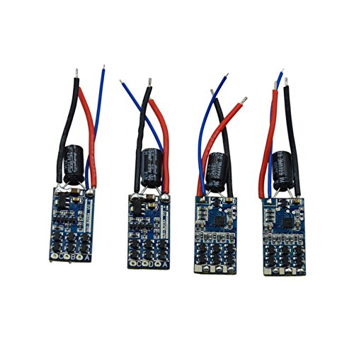 Bloimky 4-Pack B3 Electric Speed Control ESC Board for MJX B3H B2C B2W F100 F100G HS700 F18 Bugs 3 3H pro Brushless Quadcopter Drone B3 ESC 4