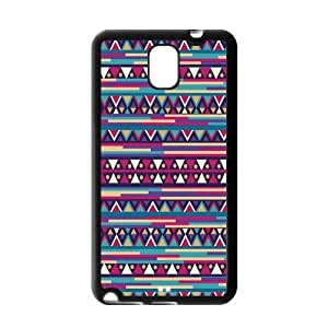 Fashion Custom Aztec Tribal Pattern Durable Protection Hard Cover Case For Samsung Galaxy Note 3 III TPU
