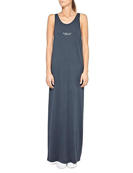 promo code 5247d 7e06a REPLAY W9590.000.22658M Abiti Donna: Amazon.it: Abbigliamento